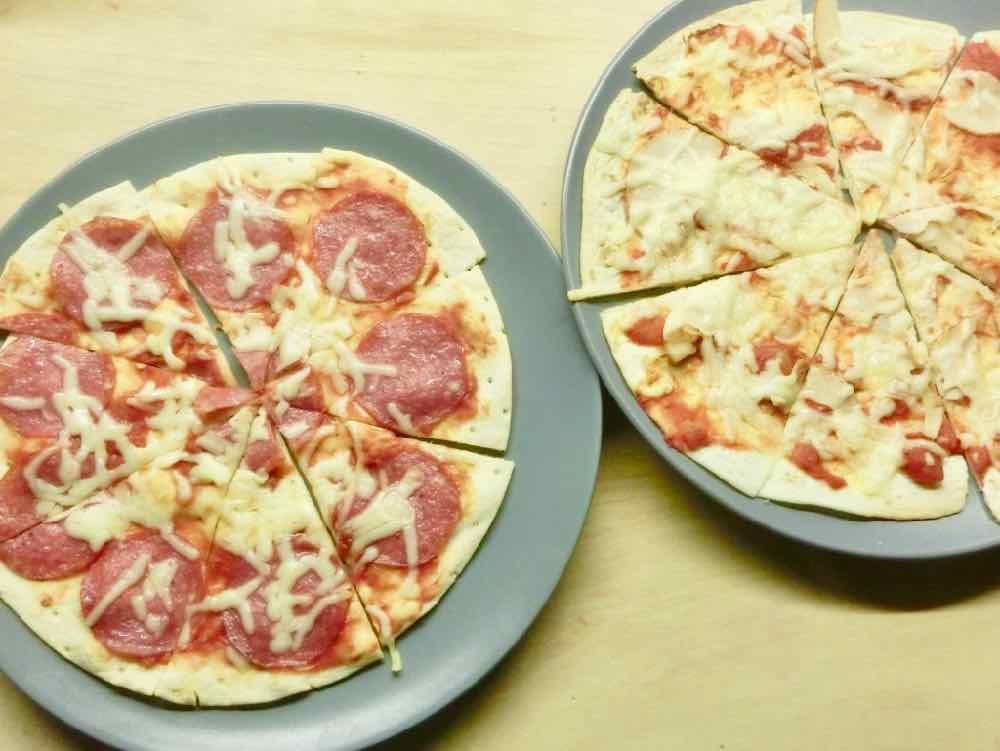 Wrap-Pizza